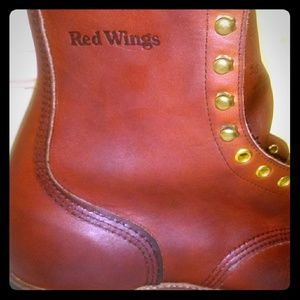 Red wing boots. Size 11. rare early 90's. 957's